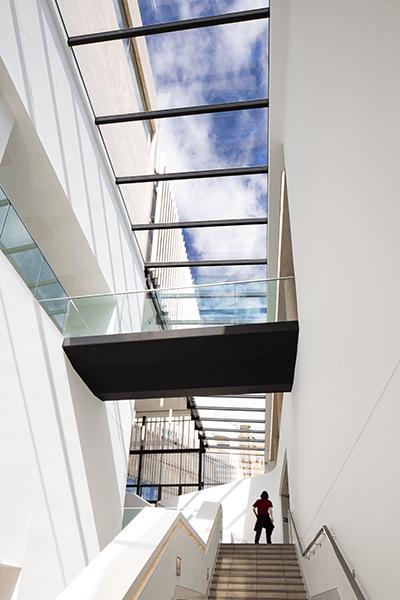 The Pontio Centre, Bangor Glazing by Alucraft