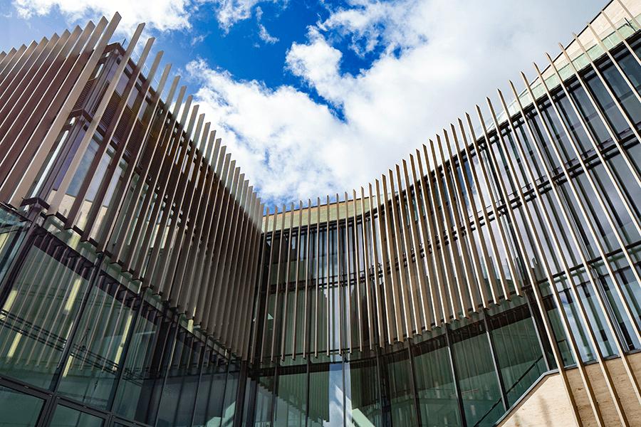 The Pontio Centre, Bangor Facade
