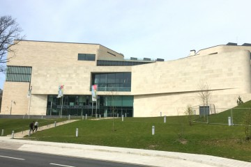 Photo of Pontio Performing Arts and Innovation Centre, part of Bangor University