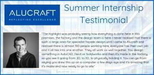 Summer Intern Testimonial - Sean Kennelly Banner V3