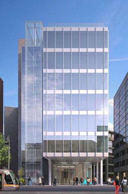 5 Harcourt Road building