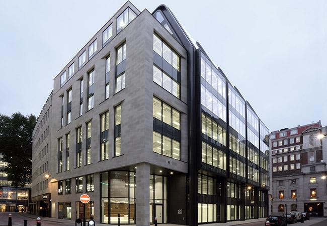 125 Wood Street London Building