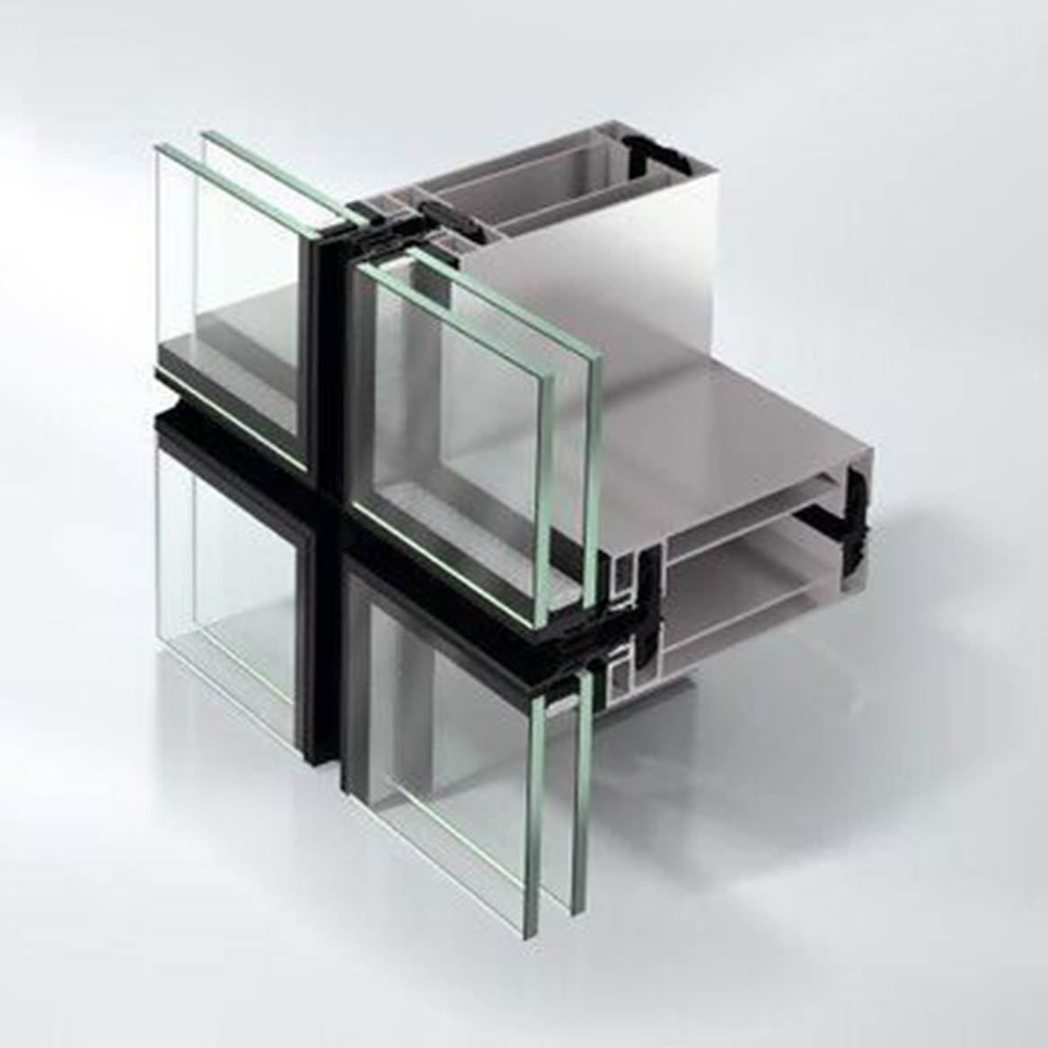 high-quality unitised curtain walling