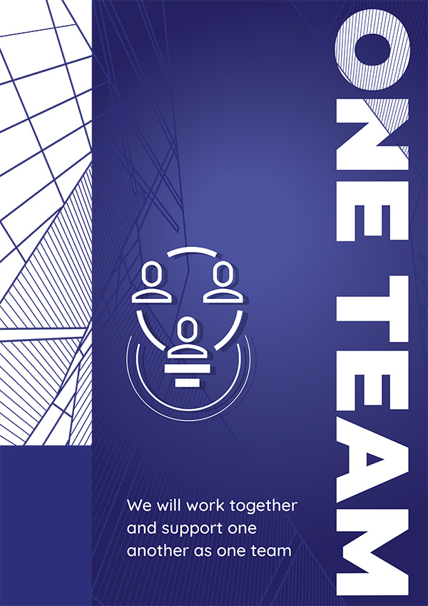 One Team Poster