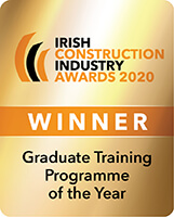 Irish Construction Industry Awards 2020 Graduate Training Programme of the Year Winner